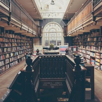 biblioteka, knygos