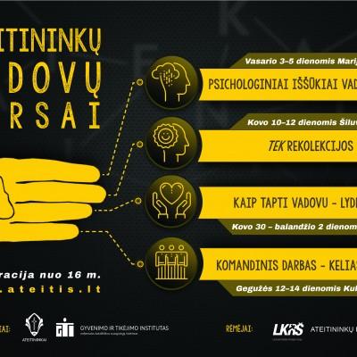 Ateitininkų vadovų kursai_plakatas