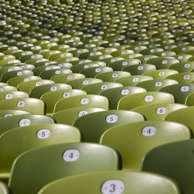 kėdės, auditorija