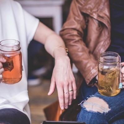 pokalbis, arbata, neformalus
