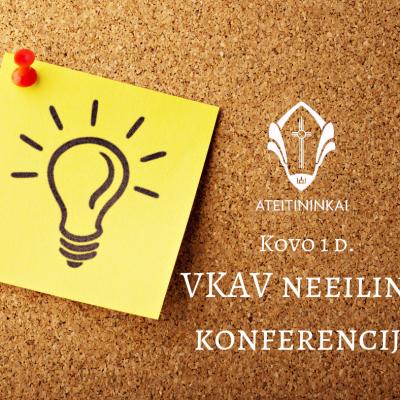 VKAV neeilinė konferencija(1)