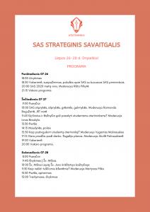 SAS strateginis savaitgalis