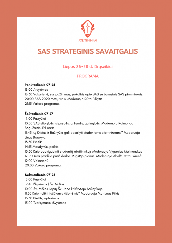 SAS strateginis savaitgalis