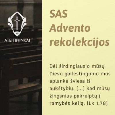 advento rekolekcijos