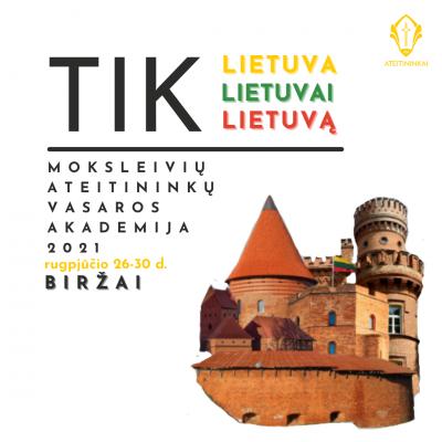 tik Lietuvai vizualas