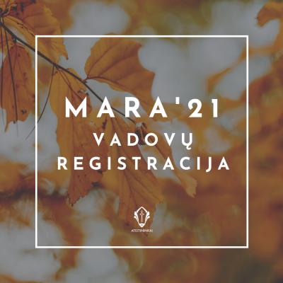 MARA'21 vadovų registracija (3)